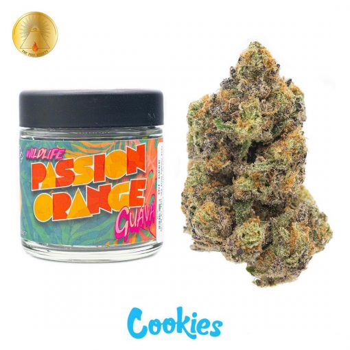 Passion Orange Cookies